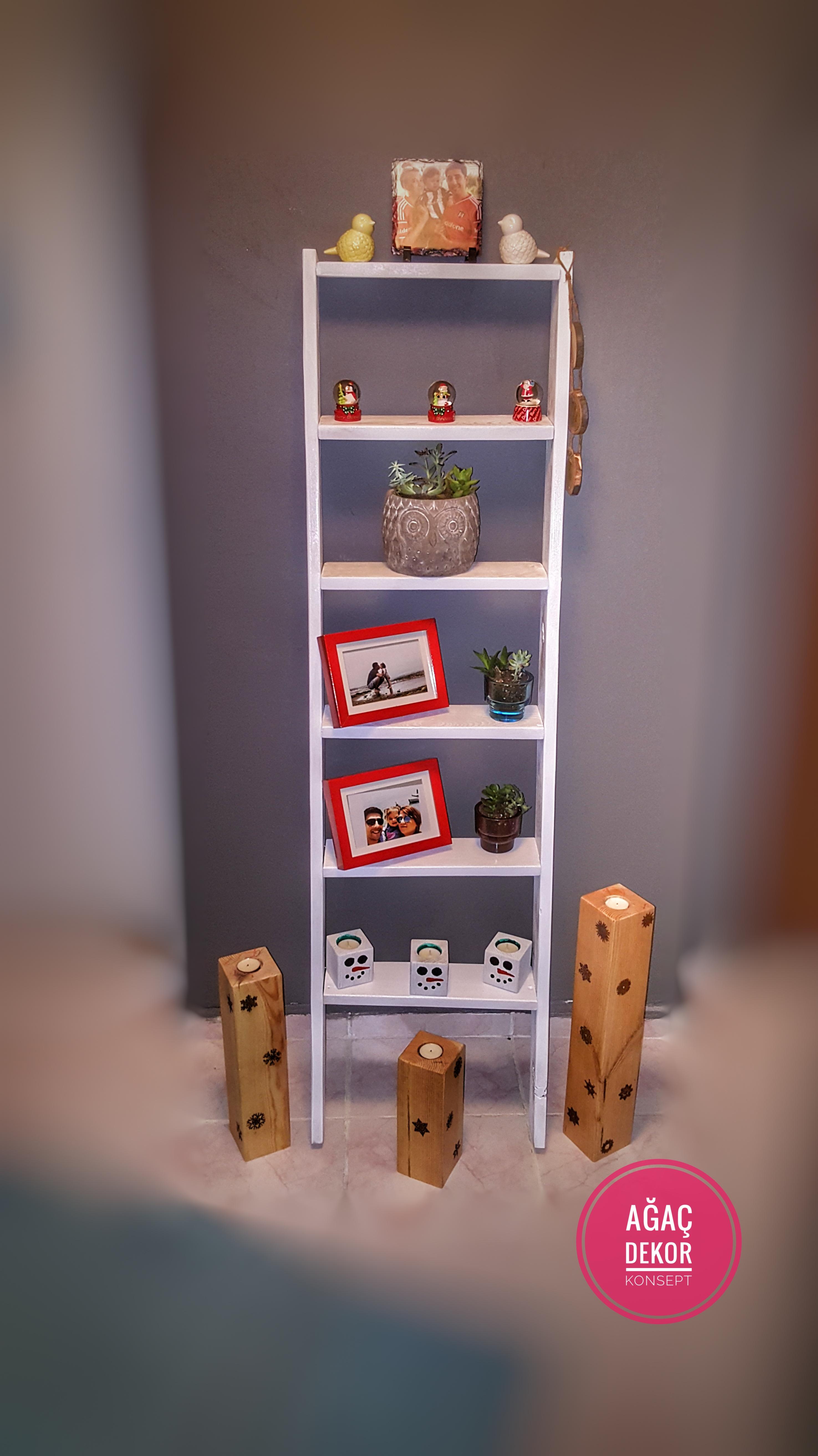 Merdivenden Yapılan Dekor Ürünleri